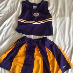Wm Reebok Cheerleader Outfit Sz L